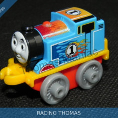 Fisher Price - Thomas and Friends Minis - trenulet jucarie RACING THOMAS - Trenulet de jucarie Fisher Price, Metal, Unisex
