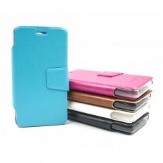 Husa protectie Allview A5 Duo AIMI, tip carte, diverse culori (Culoare: Alb) - Husa Telefon