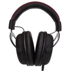 Casti Kingston cu microfon HX-HSCR-BK/EM, Gaming, headset Kingston HyperX Cloud, Revolver EMEA version, negru - Casti PC
