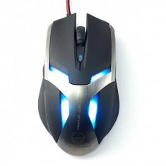 Mouse Enzatec gaming Team Scorpion Frost Wyam, Optic USB, 2000 dpi, Negru
