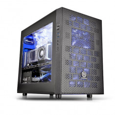 Carcasa Thermaltake Core X1, cube tower, neagra, fara sursa - Carcasa PC