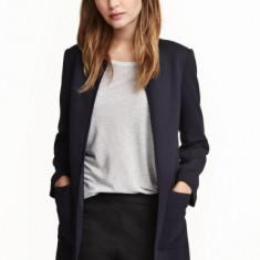 Jachetă din ţesătură texturată H&M - Jacheta dama H&m, Marime: 36, Culoare: Negru
