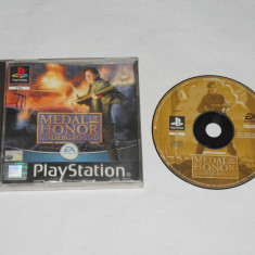 Joc consola Sony Playstation 1 PS1 PS One - Medal of Honor Underground, Actiune, Toate varstele, Single player