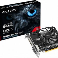 Placa video GIGABYTE RADEON R7 360 OC 2GB DDR5 128Bit - Placa video PC Gigabyte, Altul