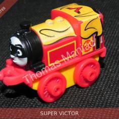 Fisher Price - Thomas and Friends Minis - trenulet jucarie SUPER VICTOR - Trenulet de jucarie Fisher Price, Metal, Unisex