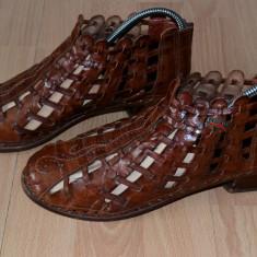 PANTOFI DAMA, PIKOLINOS DIN PIELE NATURALA, DESIGN DEOSEBIT LUCRATI MANUAL, NR.40 - Pantof dama Pikolinos, Culoare: Din imagine