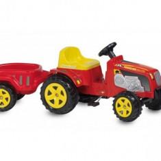 Tractor cu remorca biemme pentru copii - Masinuta electrica copii