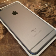 Apple iPhone 6s Plus - 128GB - Space Gray (Unlocked) Smartphone - Telefon iPhone Apple, Gri, Neblocat