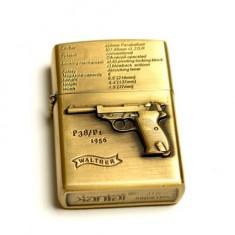 Bricheta model - Zippo - pistol - Walther, P38 / P 1 - Bricheta Zippo