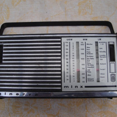 Radio vechi de colectie Minerva Minx - Aparat radio