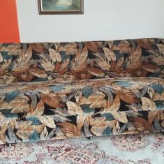 Set canapea extensibila+2 fotolii