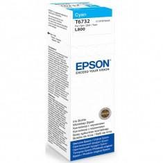 EPSON T6732-cerneala cyan pentru imprimanta EPSON L800 - Cerneala imprimanta
