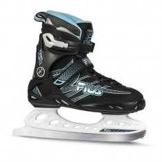 Patine Fila Primo Ice lady Black Blue, Marime: 38, 39, 41, 42, 37, 5, 38, 5, 40, 5