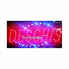 Reclama Luminoasa LED Deschis 45x25cm Rosu Albastru