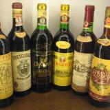 6 sticle vin lotto ( CHIANTI - A ) recoltare 1959/1962/1971/1974/1975/1976