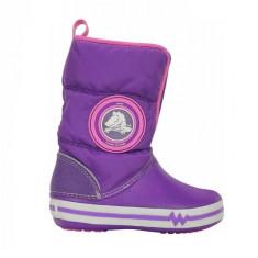 Cizme pentru copii Crocs Light Gust Boot Neon Purple (CRC13900-VOL ) - Cizme copii Crocs, Marime: 29.5, 32.5, 33.5, 34.5, Culoare: Mov