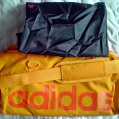 Geanta adidas Teambag Orange L47XH25Xl20cm cu geanta toaleta inclusa L39xl29cm - Geanta Dama Adidas, Marime: Alta