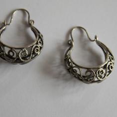 Cercei de argint - Cercei perla