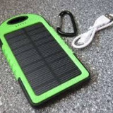 Incarcator solar acumulator 5a telefoane , NOU