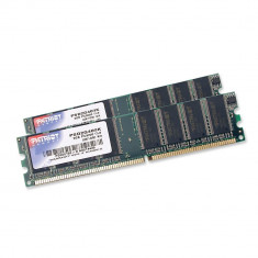 Memorie Patriot Signature 2 x 1GB DDR, 400 MHz, Non-ECC, CL 3, DIMM - Memorie RAM