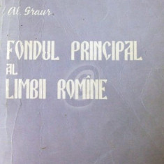 Fondul principal al limbii romane - Carte Cultura generala
