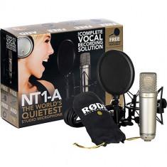 Microfon Altele Rode NT1-A pachet complet + stativ