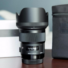 Sigma ART 50mm F 1.4 montura canon - Obiectiv DSLR