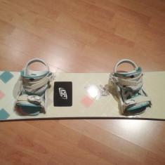 Placa Snowboard si legaturi Crazy Creek Emotion Women - 147 cm - Placi snowboard
