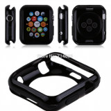 Husa iwatch 42mm silicon subtire neagra - Husa Telefon, iPhone 7