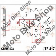 MBS Pinion fata 428 Z15, JTF417.15, Cod Produs: 12120585PE - Pinioane transmisie Moto