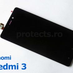 Display + Touchscreen Xiaomi Redmi 3 Black - 100% Original - Display LCD