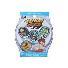 Set 3 Medalii Yo-Kai in Punguta
