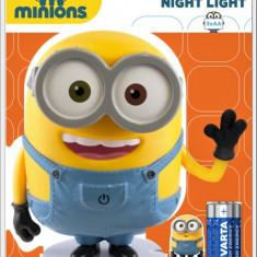 Lampa de veghe VARTA Minions LED cu 3 Baterii AA - Lanterna