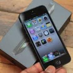 iPhone 5 Apple 16GB, Negru, Neblocat