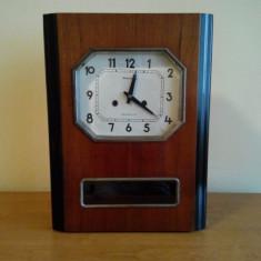 Ceas de colectie rusesc de perete cu pendul din 1970 - Pendula
