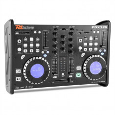 Power Dynamic PDX125, dual DJ CD player controler cu SD, USB, CD, MP3