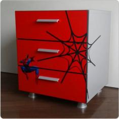 Comoda copii Spiderman - Set mobila dormitor