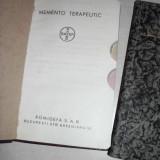 MEMENTO TERAPEUTIC +FORMULAR TERAPEUTIC /AMBELE INTERBELICE - Carte veche