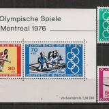 Germania.1976 Olimpiada de vara MONTREAL SG.348 - Timbre straine, Nestampilat