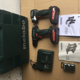 Kit Autofiletanta METABO 18V plus lanterna 18v nou 2016 - Bormasina