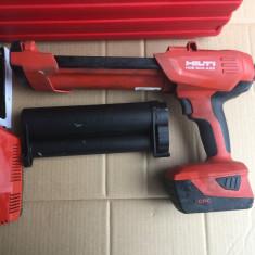 Set Pistol ancore, silicon HILTI HDE 500 A22 ca nou din 2016