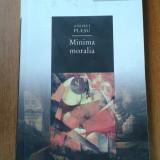19526 ANDREI PLESU - MINIMA MORALIA - Filosofie