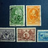 Romania, 1931 50 ani de regat serie stampilata