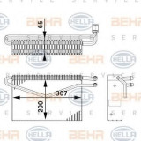 evaporator,aer conditionat MERCEDES-BENZ ACTROS MP2 / MP3 1832, L, LL - HELLA 8FV 351 211-761