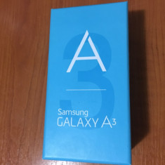 Vand Samsung Galaxy A3, nou, sigilat 16GB - Telefon Samsung, Neblocat, Single SIM, 1.5 GB
