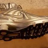 Nike Shox Turbo 7 SL - Adidasi barbati Nike, Marime: 44, Culoare: Argintiu