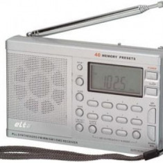 Radio portabil ELTA Deluxe / radio portabil JGC RWE-56 - Aparat radio, Digital, 0-40 W