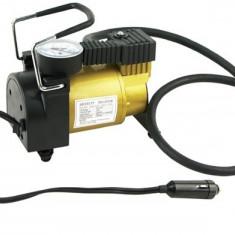 Compresor aer cu manomentru mecanic 12V, 10bari, 150 w - Compresor auto