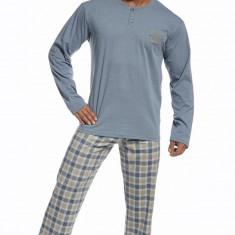 Pijama barbati - Cornette - 123-66 LDN - Pijamale barbati, Marime: S, M, L, XL, XXL, Culoare: Albastru