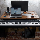 Clapa midi M-AUDIO Keystation II (generatia a doua) + pedala M-AUDIO SP2 - Orga Altele